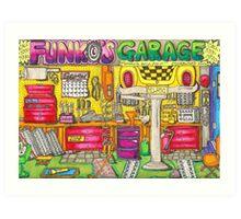 Funko's Garage Art Print