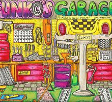Funko's Garage by Roehner