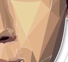 Nick Jonas Polygon Portrait Sticker