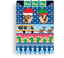 Breaking Christmas - Ugly Christmas Sweater Canvas Print