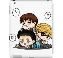 Mighty trio - thominewt iPad Case/Skin