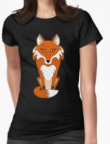 STARING FOX Womens Fitted T-Shirt