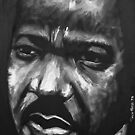 MLK Jr by tonyford