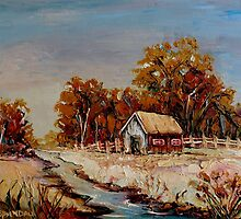 BEST SELLING CANADIAN LANDSCAPE PAINTINGS BY CANADIAN ARTIST CAROLE SPANDAU by Carole  Spandau