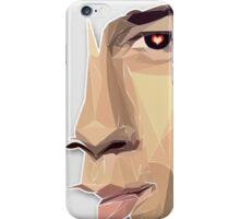 Nick Jonas Polygon Portrait iPhone Case/Skin