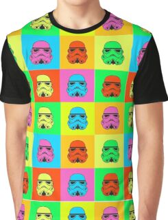 Colourful Trooper Collage Graphic T-Shirt