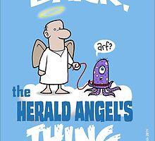 Bark, The Herald Angel's Thing by DocHackenbush