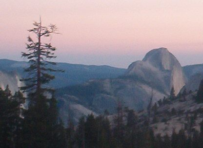 Dusk at Yosemite by Barb Stuckey