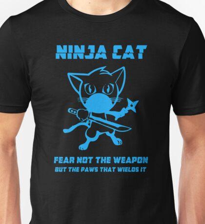 Ninja Cat Unisex T-Shirt