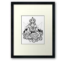 WIKJO Framed Print