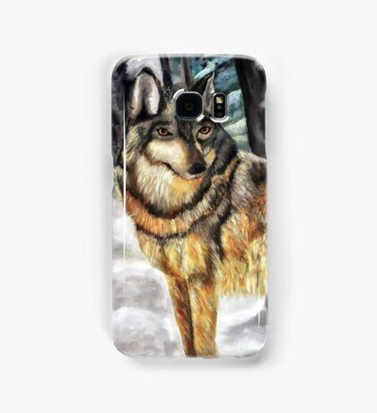 Timber Wolf Samsung Galaxy Case/Skin