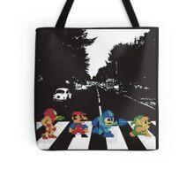 Nintendo Sprites on Abbey Road Tote Bag
