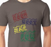 Action Words Unisex T-Shirt