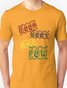 Action Words T-Shirt