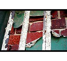 Bricks and Paint Photographic Print