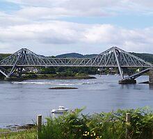 Connel bridge, by Oban Scotland. by hillsidevoe