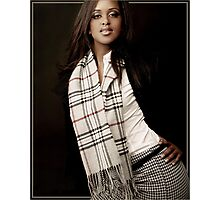 Burberry Scarf Photographic Print