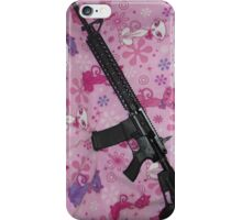 cats and gun  iPhone Case/Skin