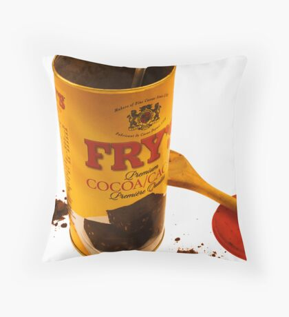 Frye's Cocoa Throw Pillow
