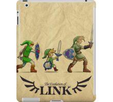Evolution of Link iPad Case/Skin