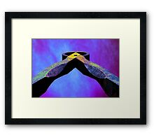 Dividers Abstract Framed Print