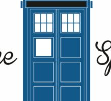 Doctor Who Converse Time Traveller Sticker