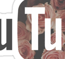 Floral YouTube  Sticker