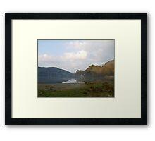 Llyn Gwynant , Snowdonia ,North Wales. Framed Print