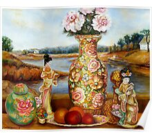 BEAUTIFUL STILL LIFE PAINTINGS AND PRINTS BY CANADIAN ARTIST CAROLE SPANDAU Poster
