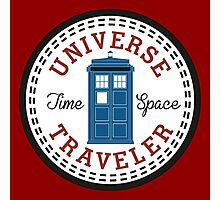 Doctor Who Converse Time Traveller Photographic Print