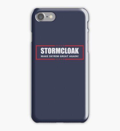 Make Skyrim Great Again iPhone Case/Skin