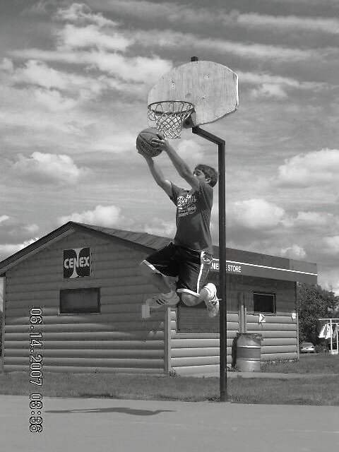 slam dunk by Jaclyn Clemens
