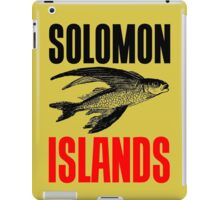 FLYING FISH (SOLOMON ISLANDS) iPad Case/Skin