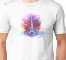 Eiffel Tower - Single Line Unisex T-Shirt