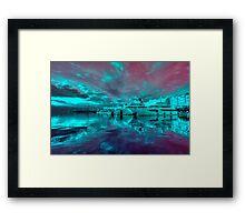 Rijeka Surreal  Framed Print
