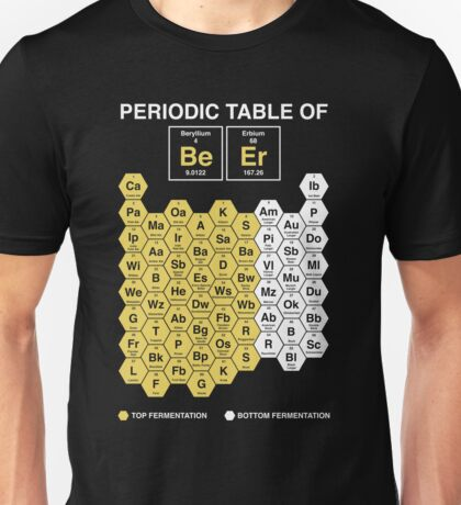 Periodic table of Beer Unisex T-Shirt