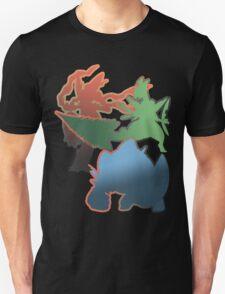 Mega Blaziken, Swampert, and Sceptile Unisex T-Shirt