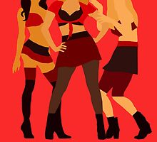 The unholy trinity minimalistic - toxic version 1 ; by dolphinvera