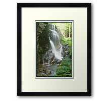 Avalanche Waterfalls, NH Framed Print