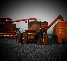 farming with case IH by Jaclyn Clemens