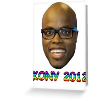 Jandino 2012 (Kony) Greeting Card
