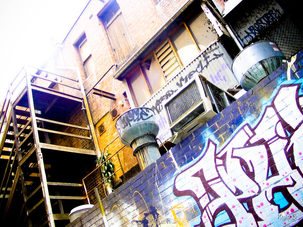 Croft Alley. by Kyle S