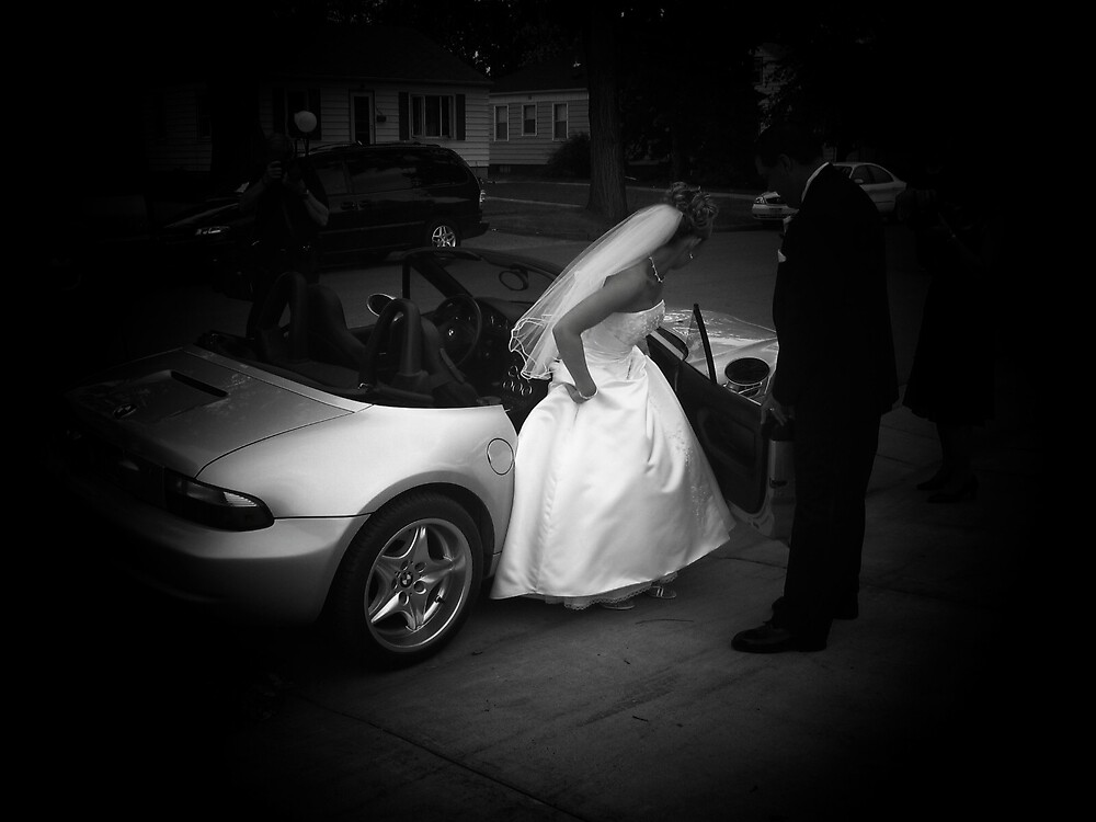 On my wedding day... by Jaclyn Clemens