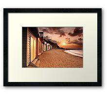 Mount Eliza, VIC Framed Print