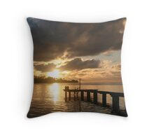 South Pacific Throw Pillow