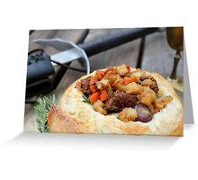 Winterfell Beef Stew Greeting Card