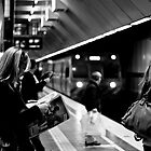 Melbourne Central Train Station by MattLew