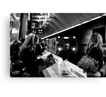 Melbourne Central Train Station Canvas Print