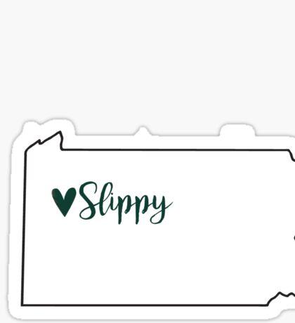 Slippy Sticker