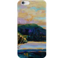 BEST CANADIAN PRINTS AND PAINTINGS WINTER LANDSCAPES GLORIOUS WINTER SUNRISE BY CAROLE SPANDAU iPhone Case/Skin